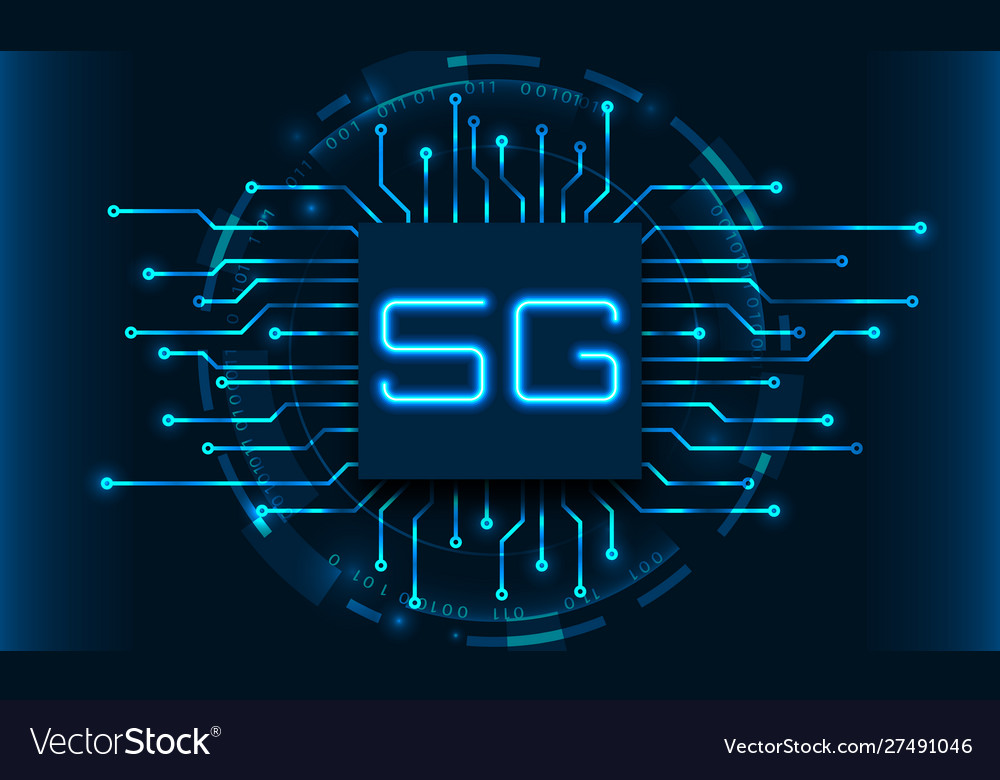 5g new wireless internet wi-fi connection circuit