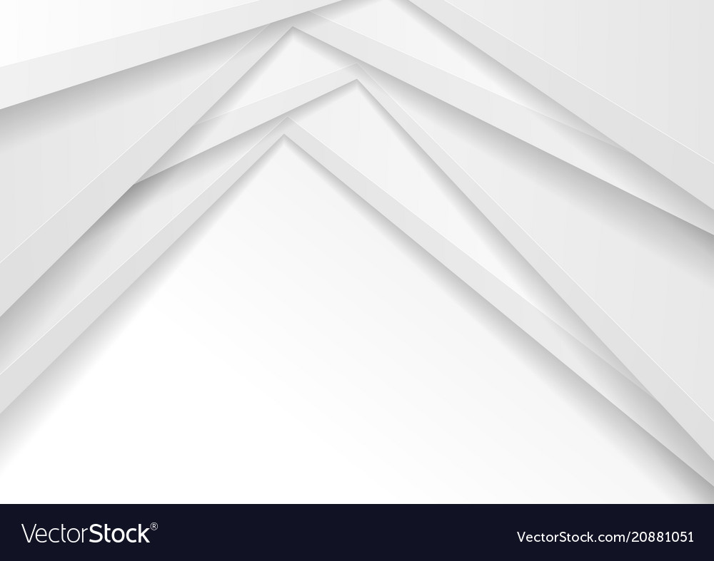 Grey abstract corporate minimal background vector image