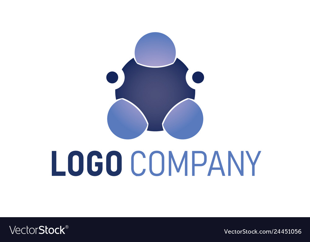 Abstract technology logo template globe sphere