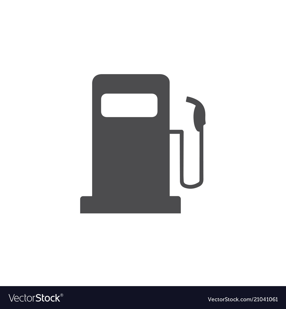 Fuel icon for web business finance and