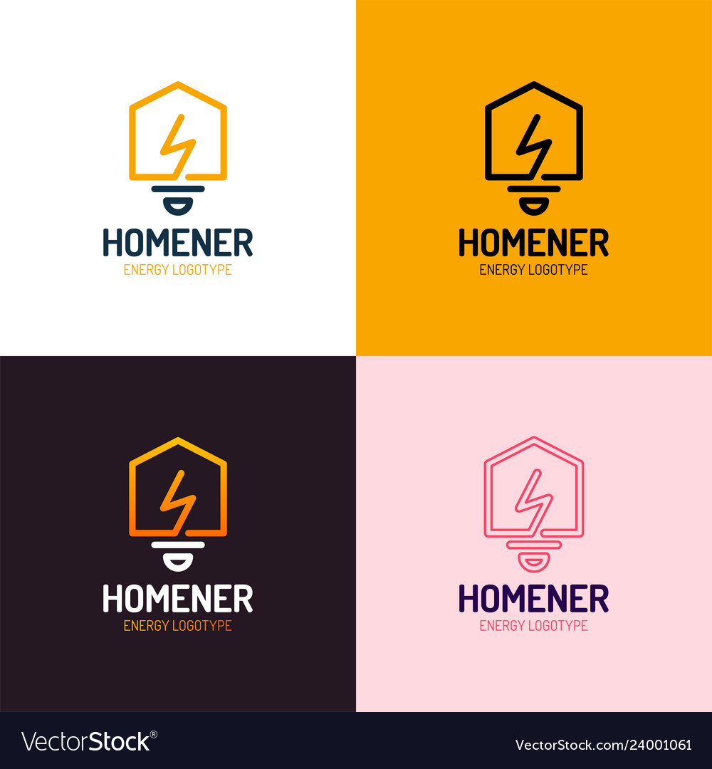 Lighting bulb shaped smart home sign icon smart