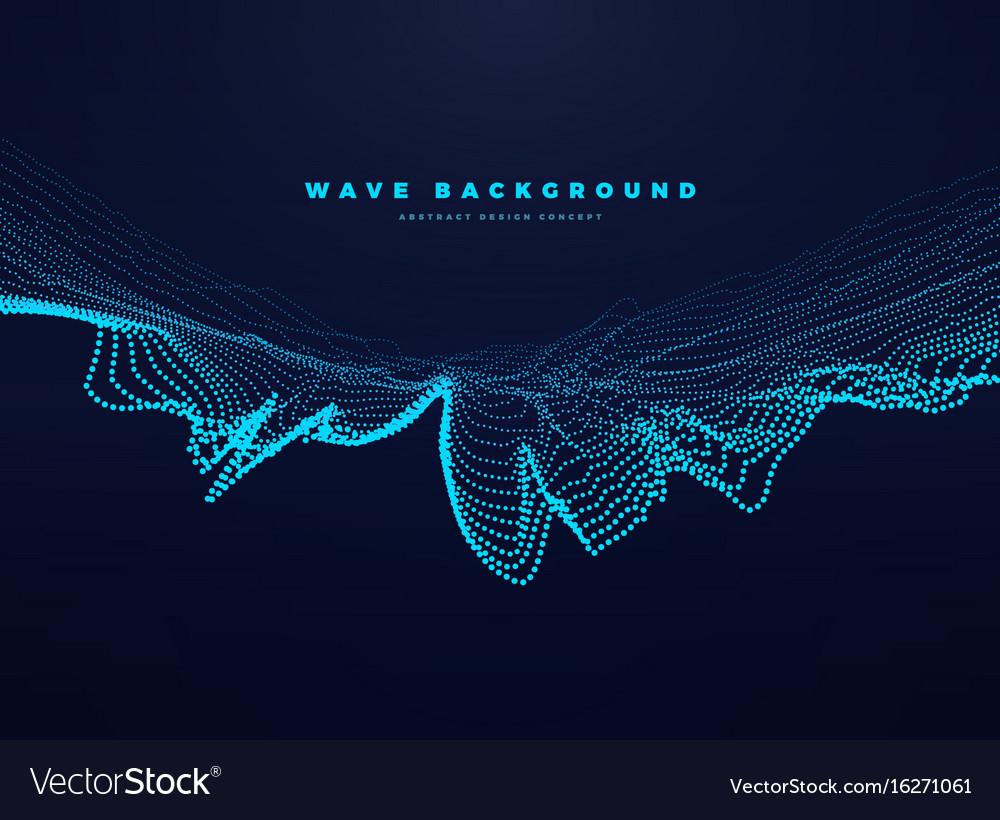 Particle speed landscape