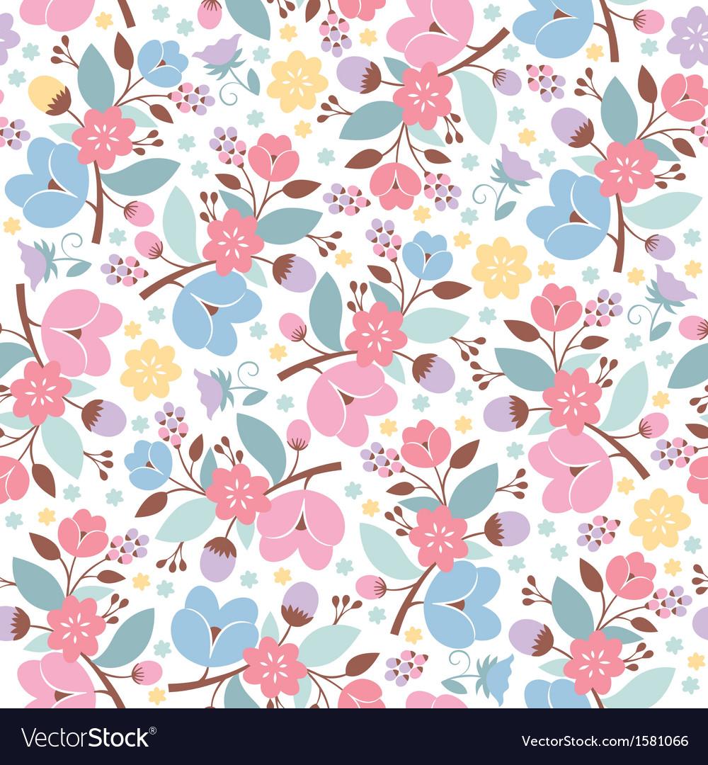 Beauty floral pattern