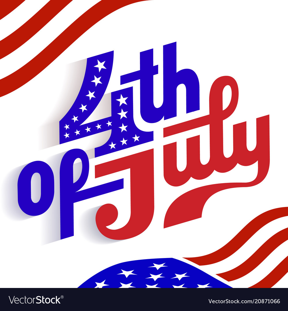 Happy 4th july - independence day