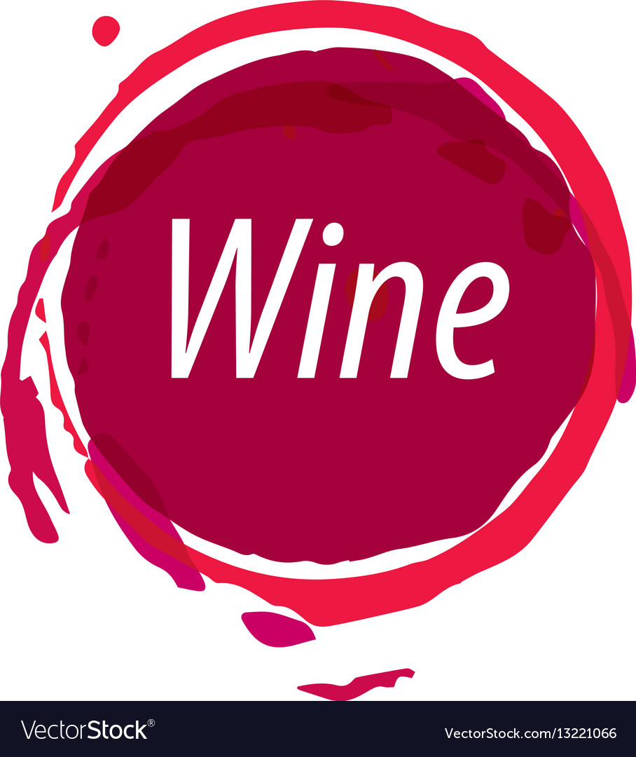 Wine logo imprint