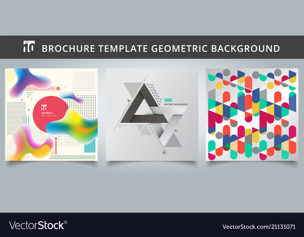 Set template geometric covers design