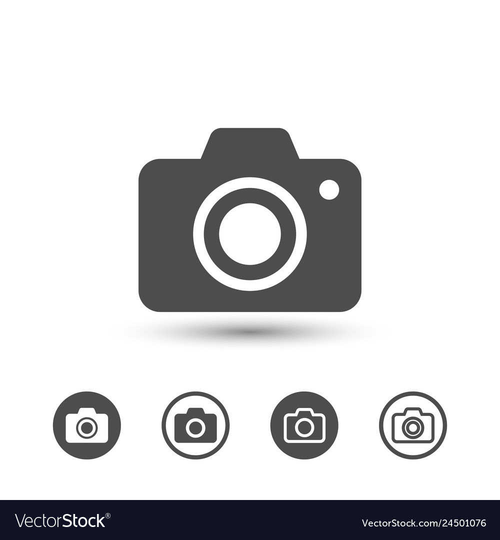 Simple camera icons image