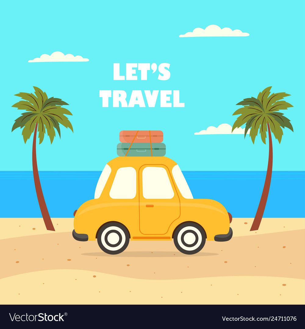Travel car summer