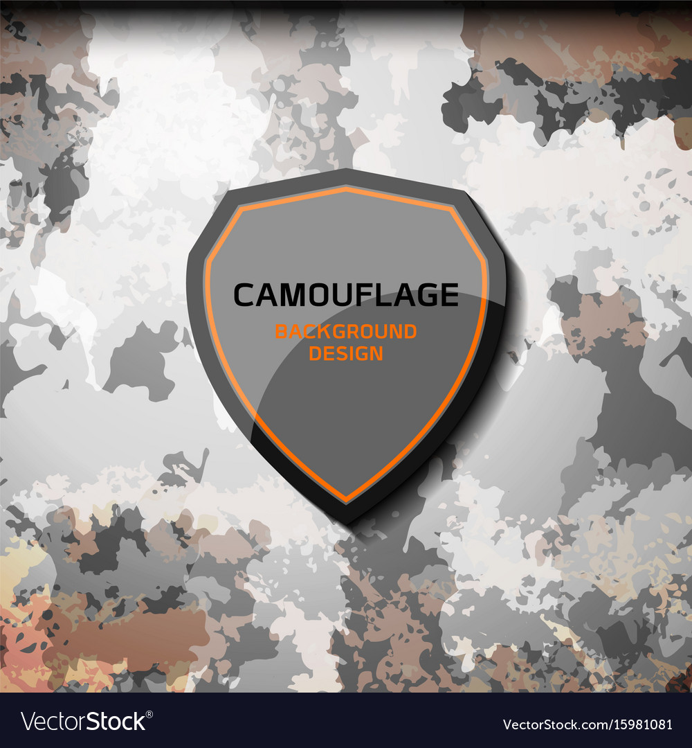 Camouflage grey background