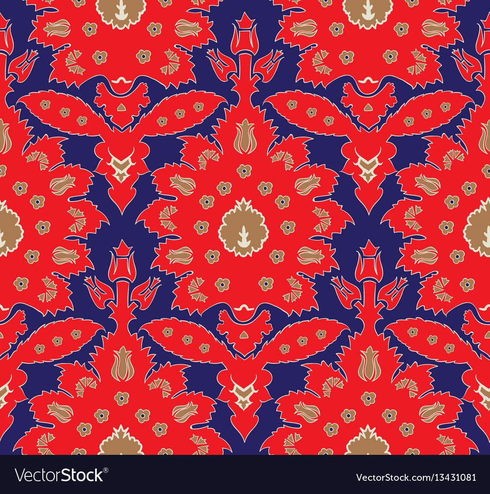 Ottoman turkish style floral seamless pattern