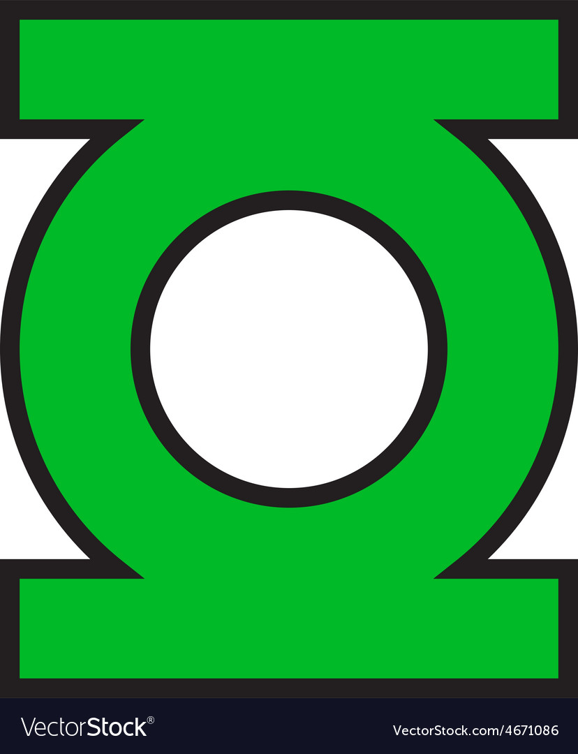 This is a graphic of Wild Green Latern Logo