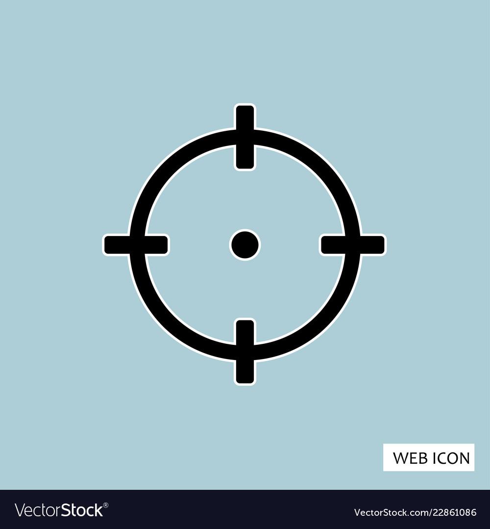 Target icon target icon eps10 target icon target