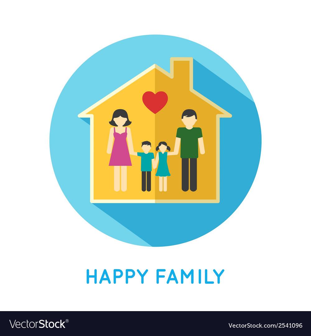 Family icon home