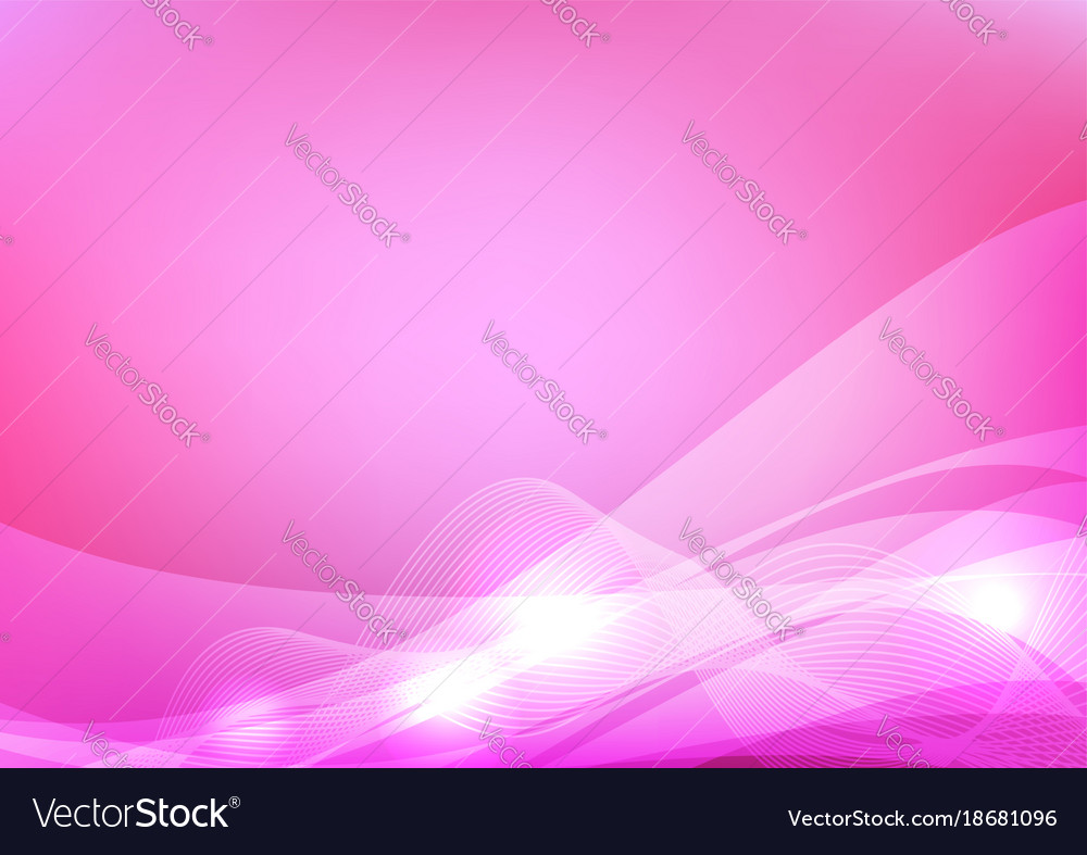 Pink wave abstract background graphic design Vector Image