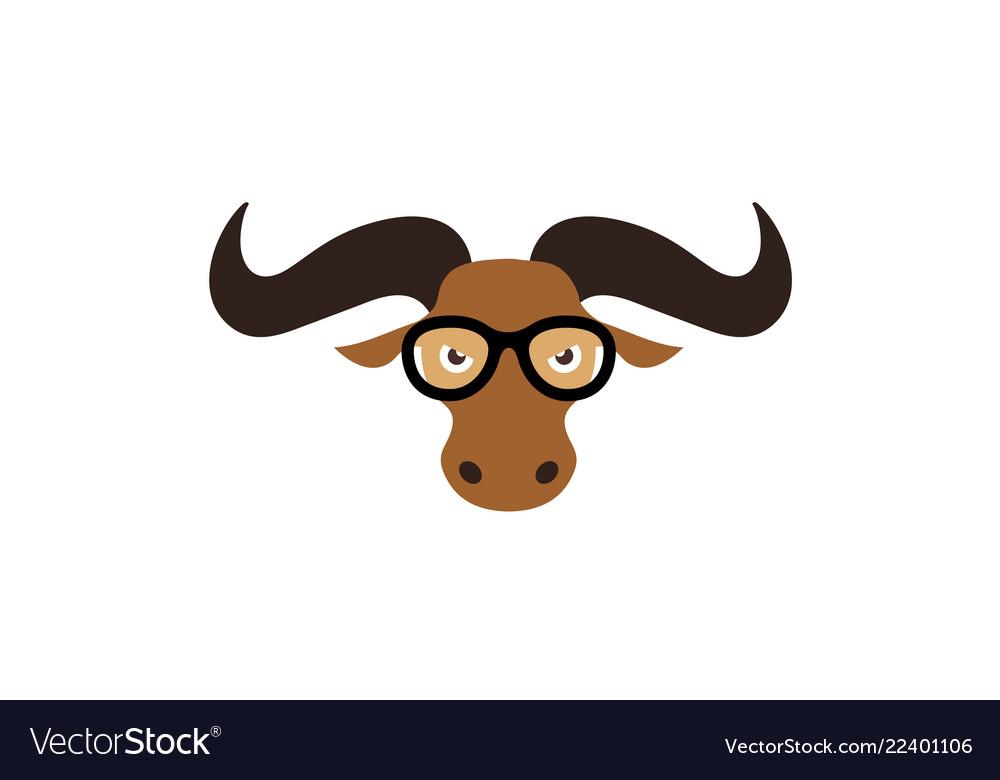 Animal cartoon head logo