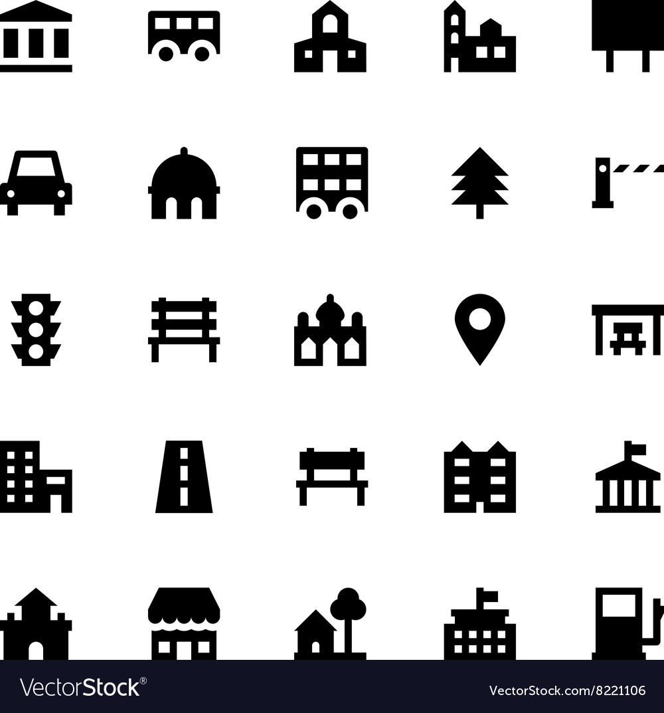 City Elements Icons 3