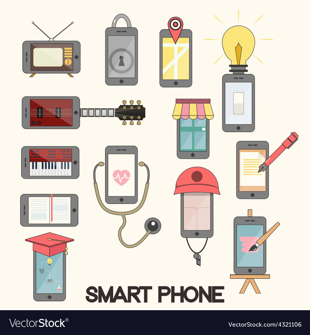 Isolated smartphone functions for life