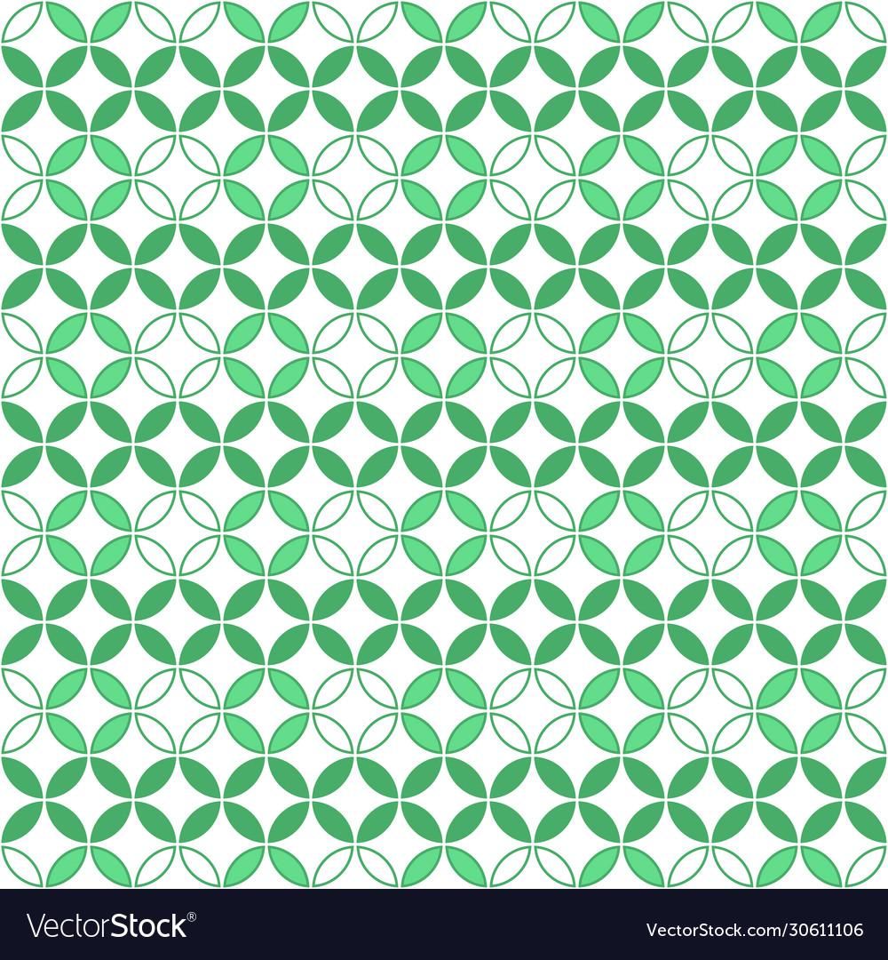Round geometric pattern