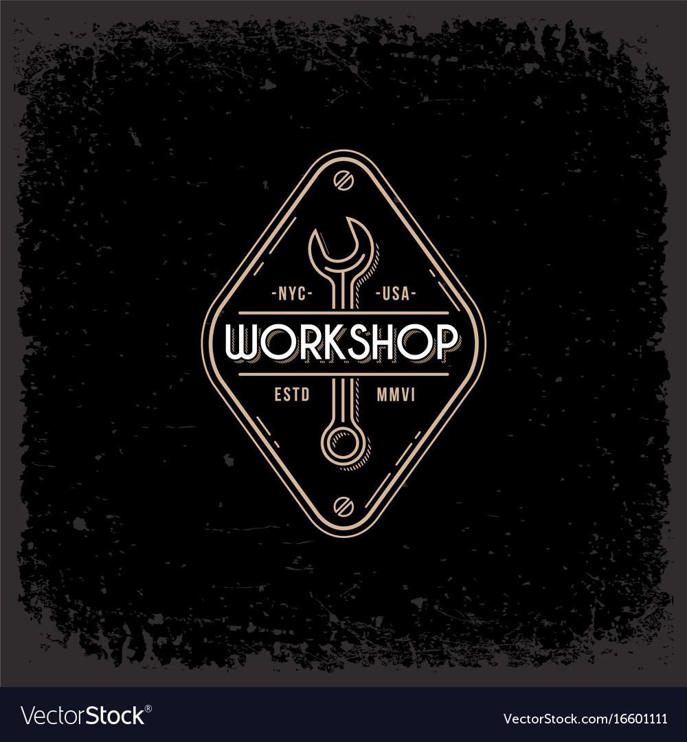 Workshop label