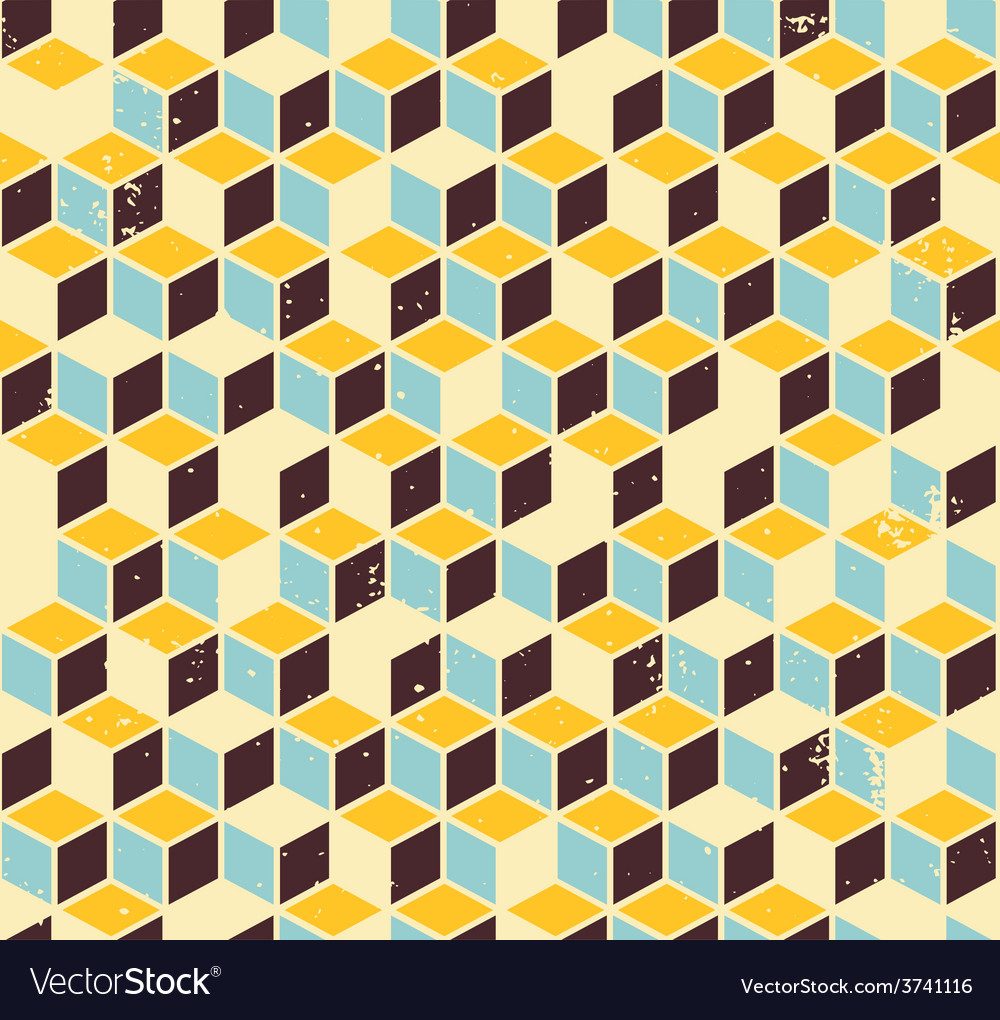 Abstract geometric retro background