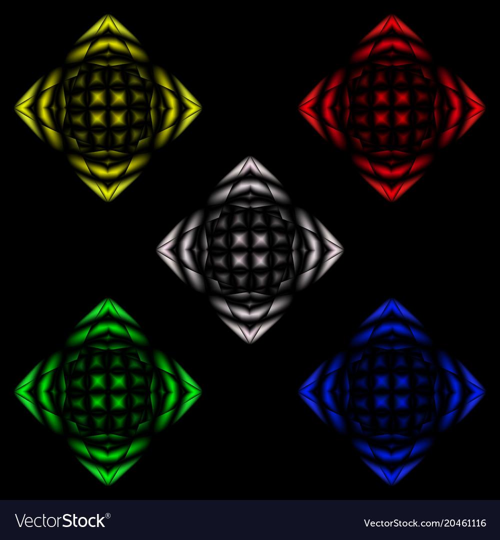 Abstract image of disco ball