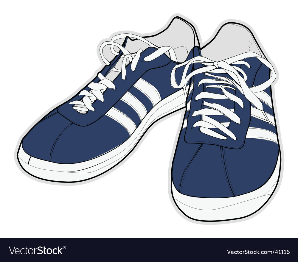 sport shoes royalty free vector image vectorstock rh vectorstock com vector sports vector sports