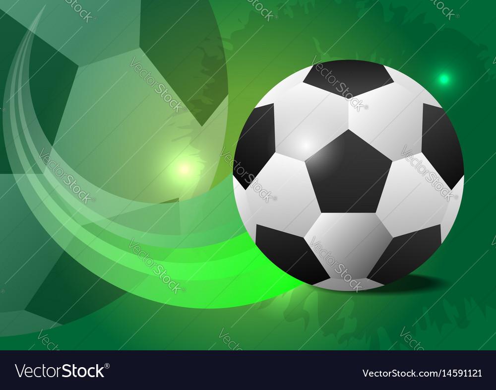 Creative soccer design ball concept