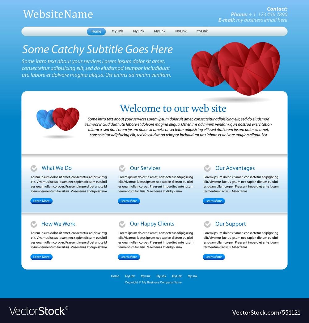 Website medical template