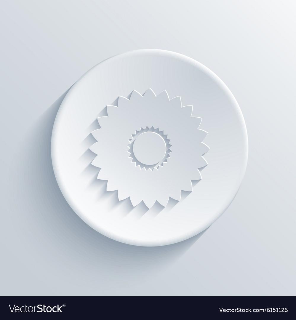 Modern light circle icon