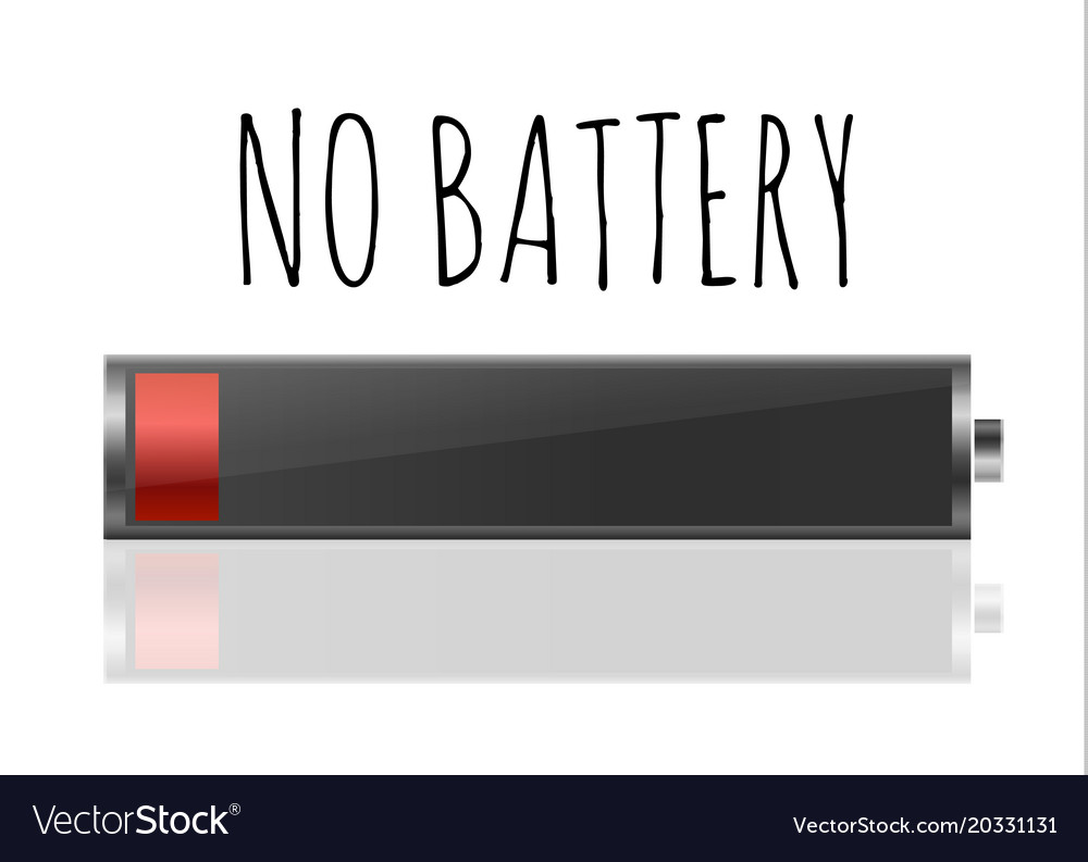 Battery charger with finger low batteries and