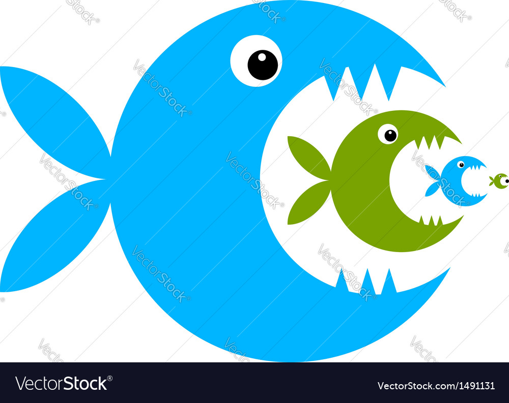 funny fish cartoon for your design royalty free vector image rh vectorstock com cute fish cartoon pics cute fish cartoon images