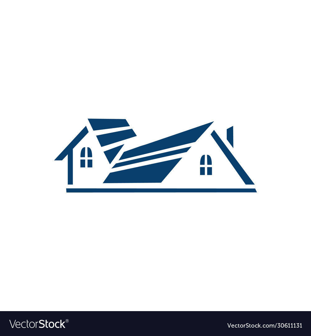 Real estate logo property and construction logo