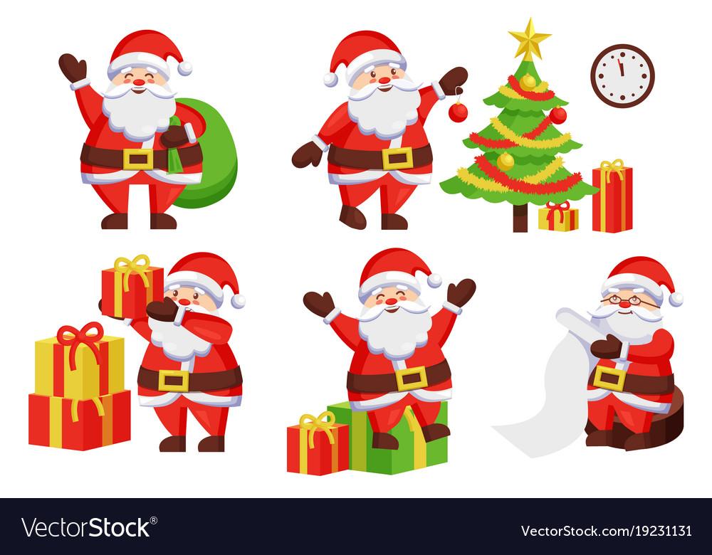 Santa claus activities poster