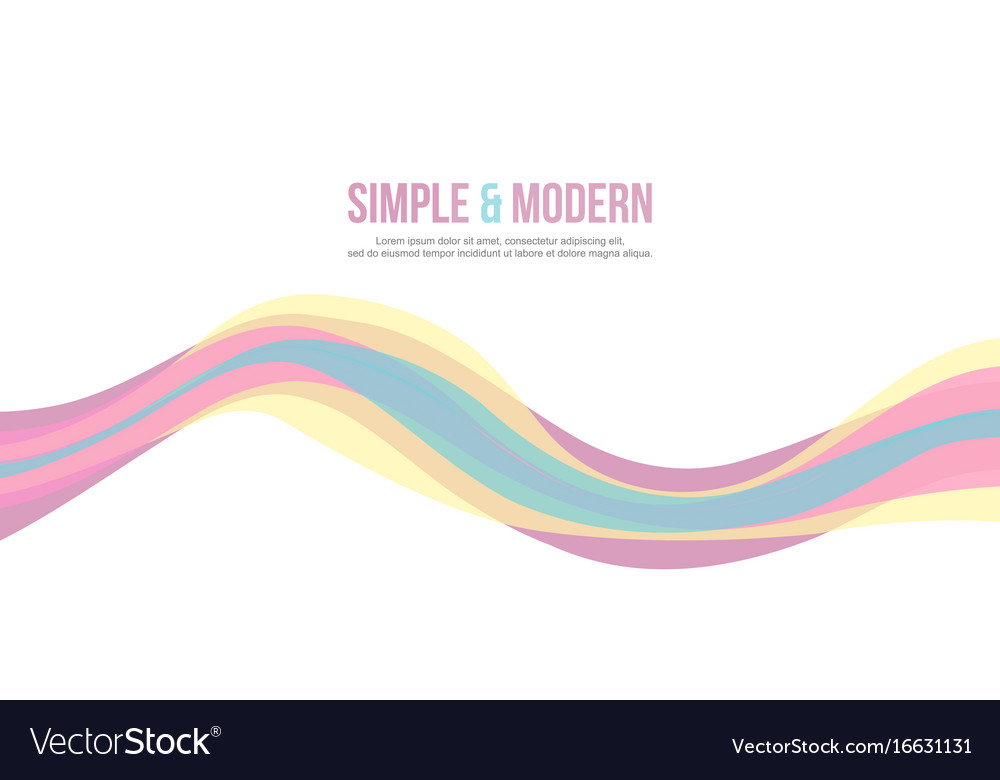 wave design banner background collection vector image