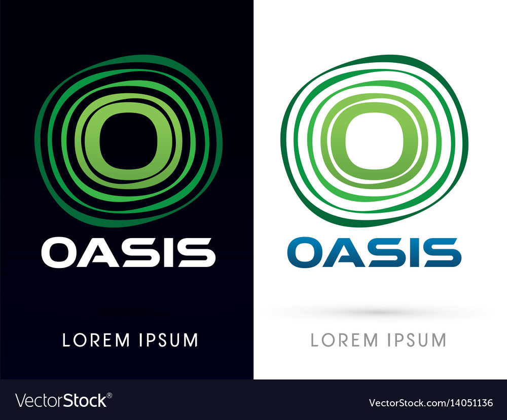 Oasis font typography