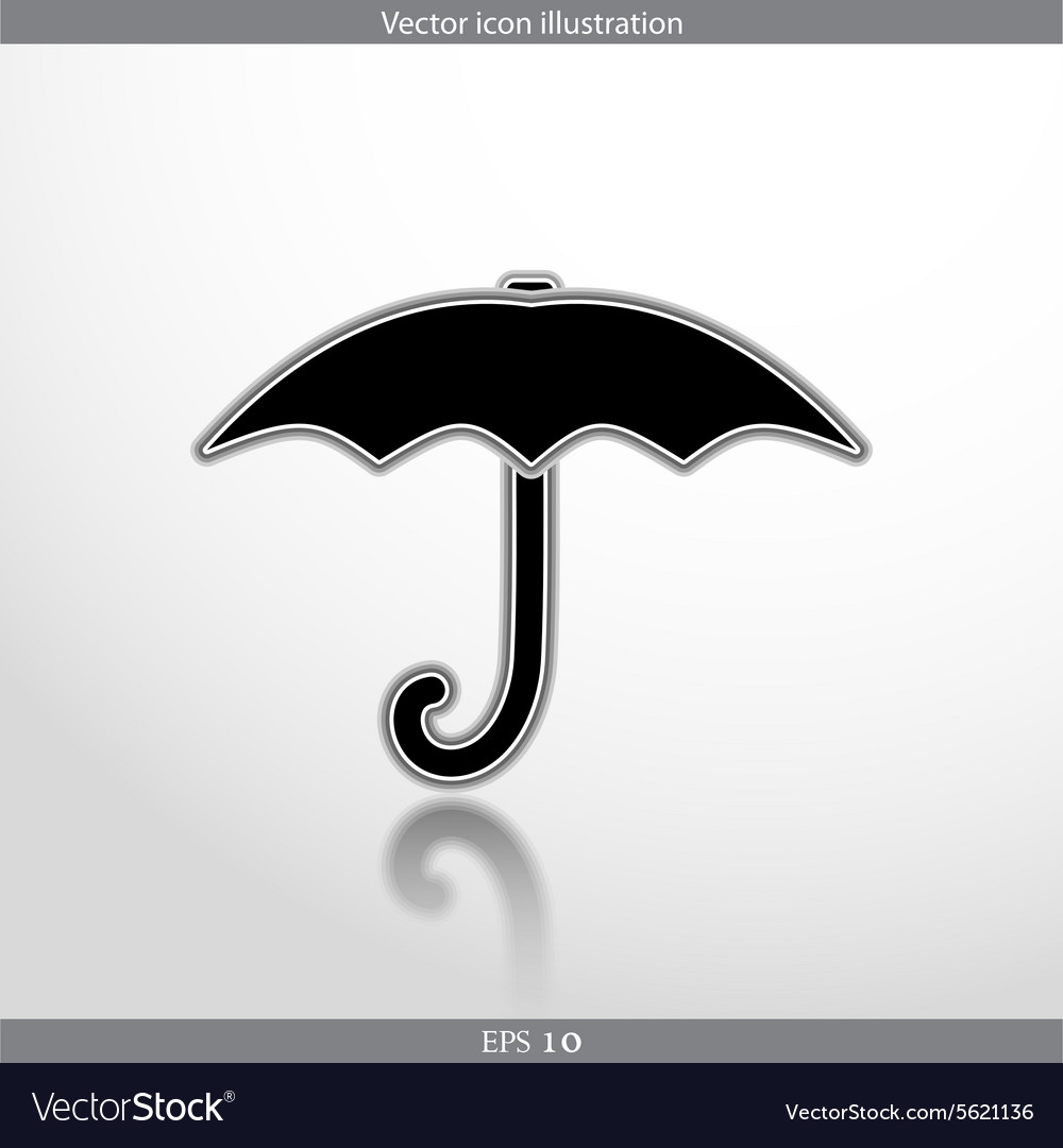 Umbrella web icon