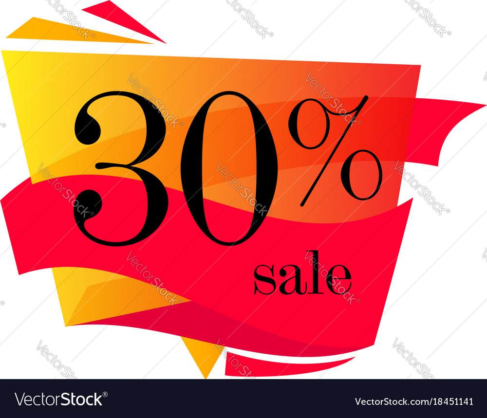 30 off sale discount banner discount offer price