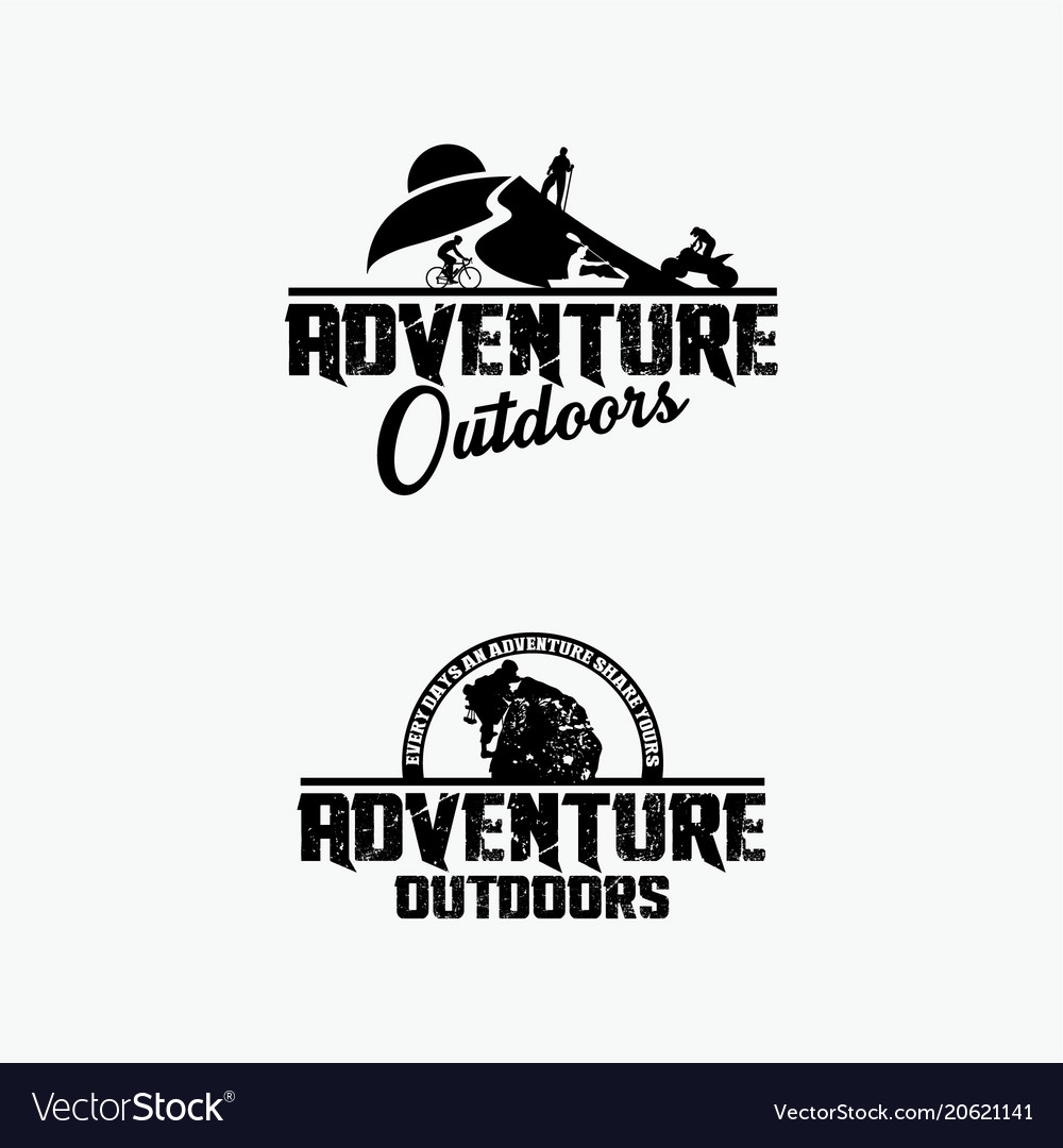 Adventure logo badges 3