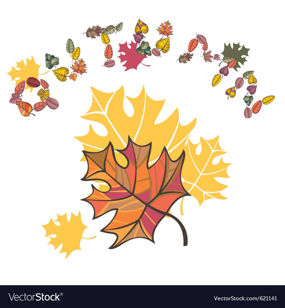 Autumn composition