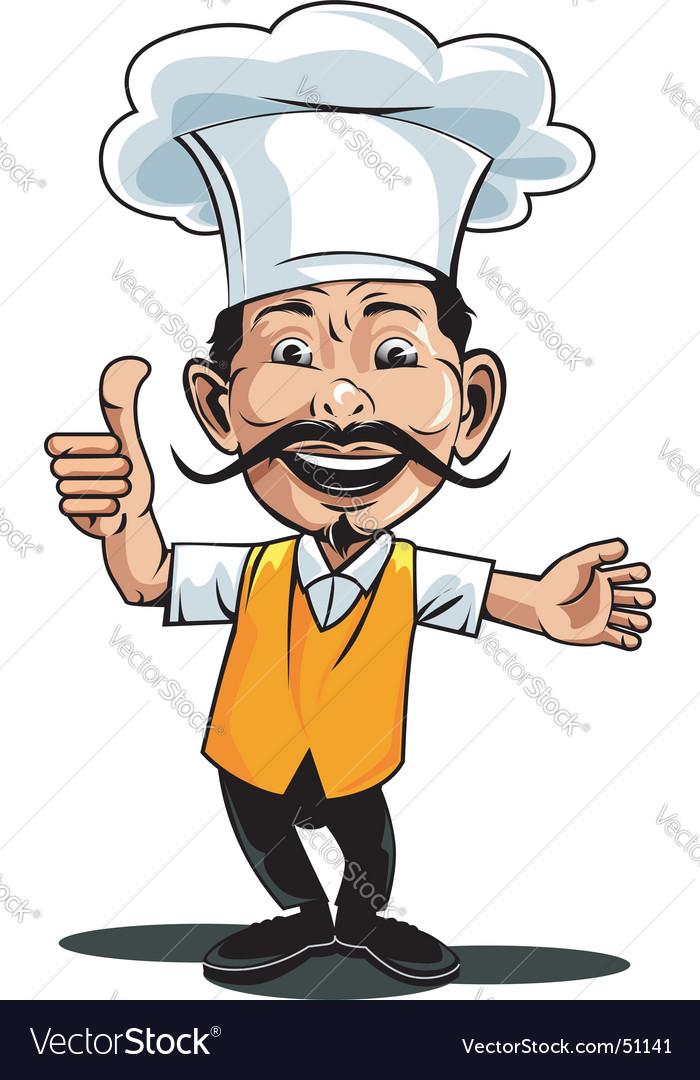 Chef icon vector image