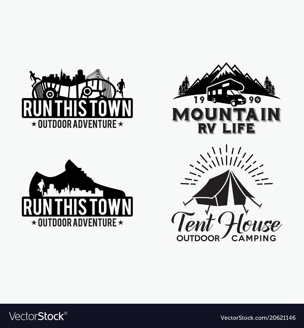 Adventure logo badges 8