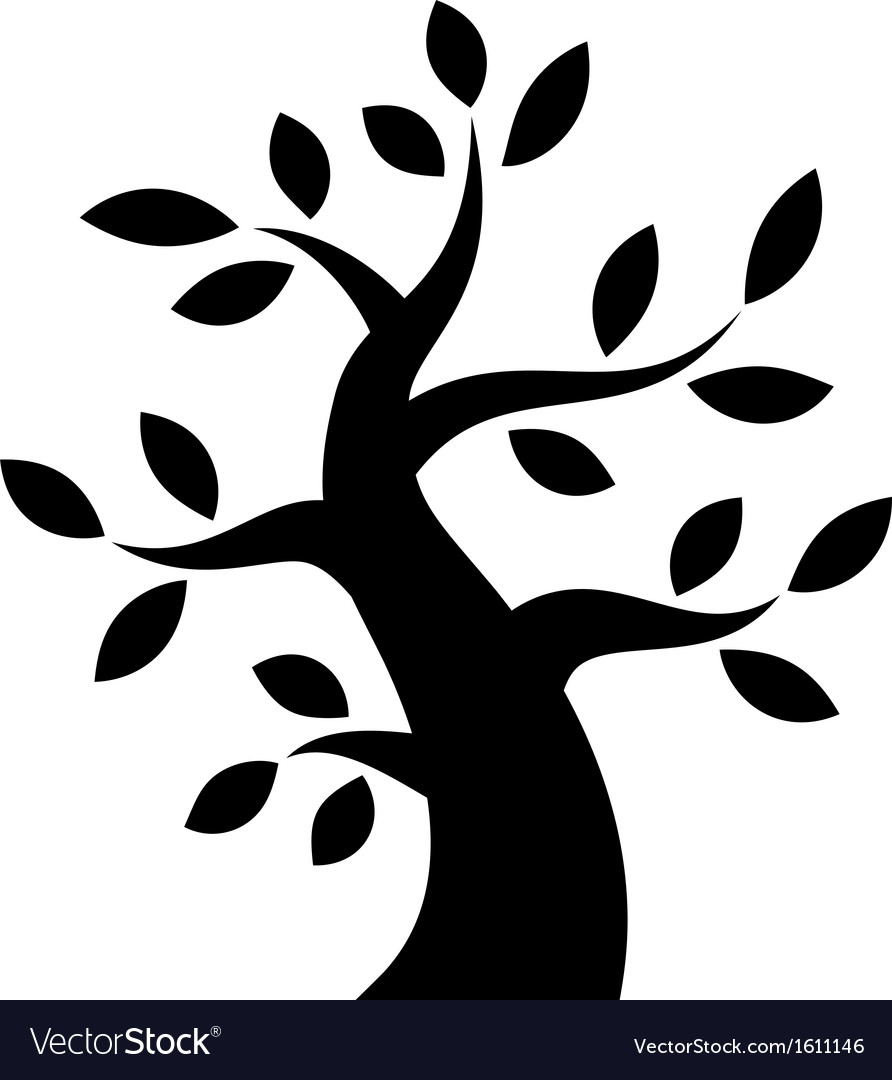 black bold tree icon royalty free vector image free vector icon email phone free vector icon email phone
