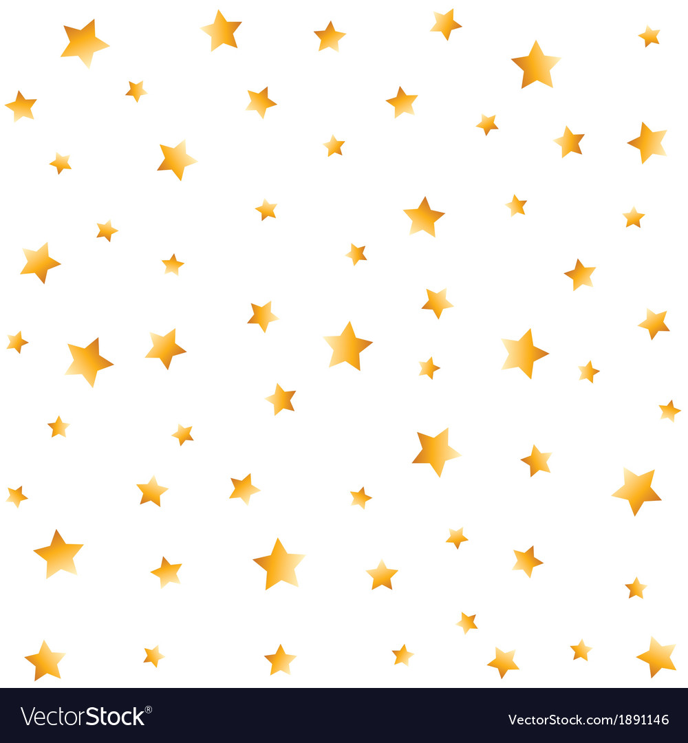gold stars seamless background royalty free vector image