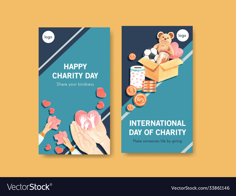 Instagram template with international day