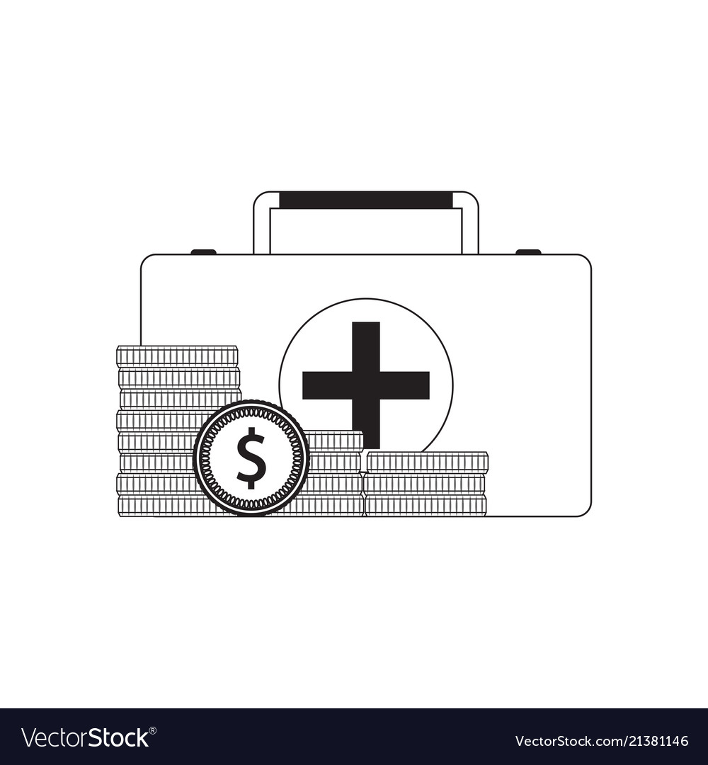 Payment For Medical Care Royalty Free Vector Image