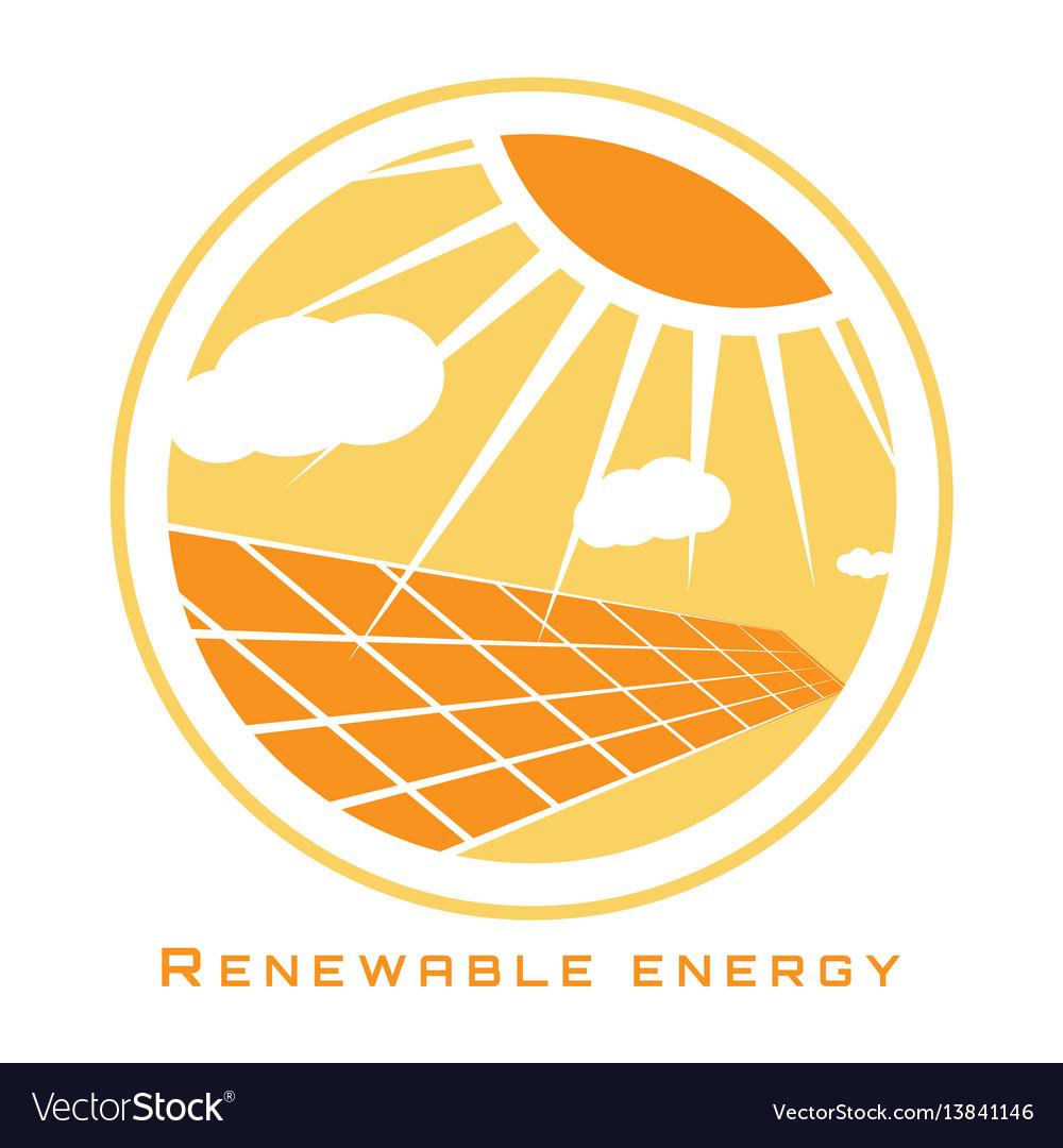 Renewable energy solar energy