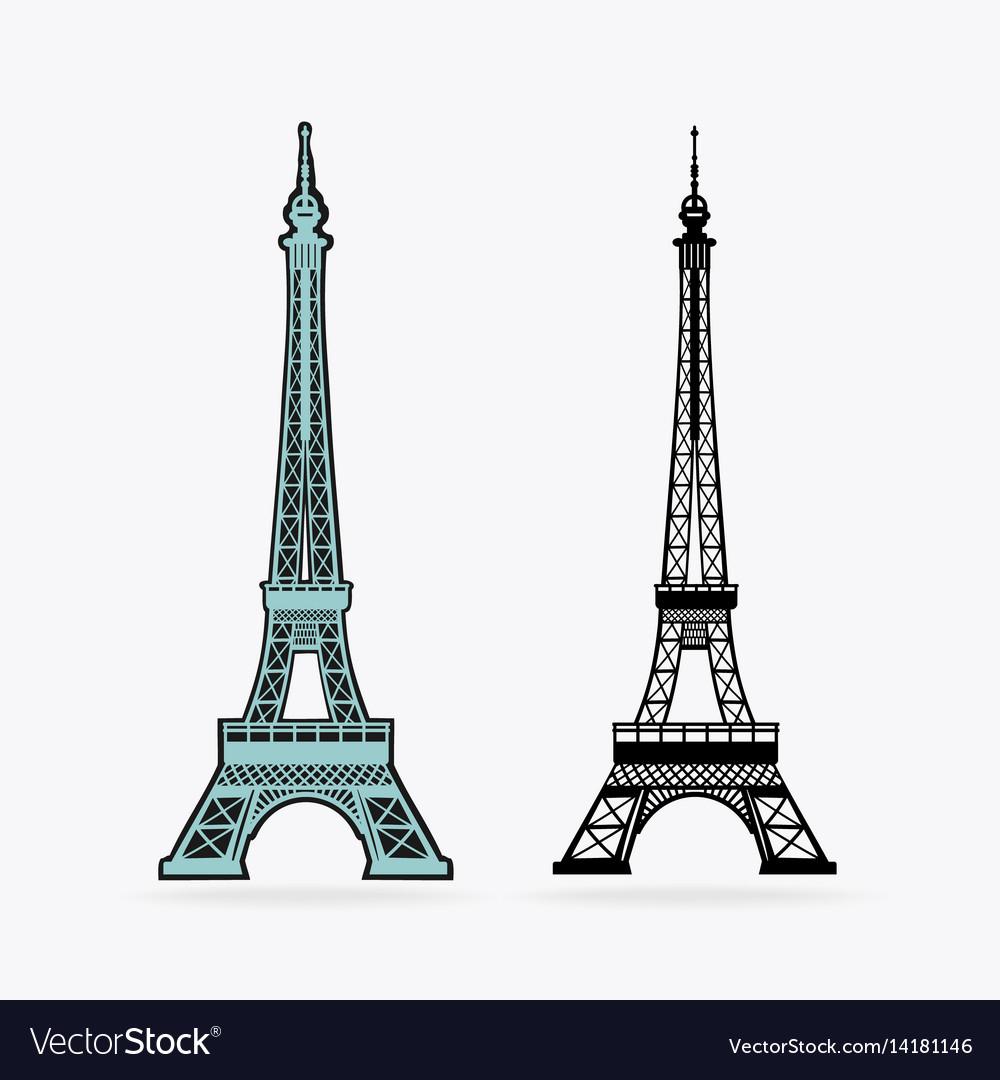 Symbol eiffel tower