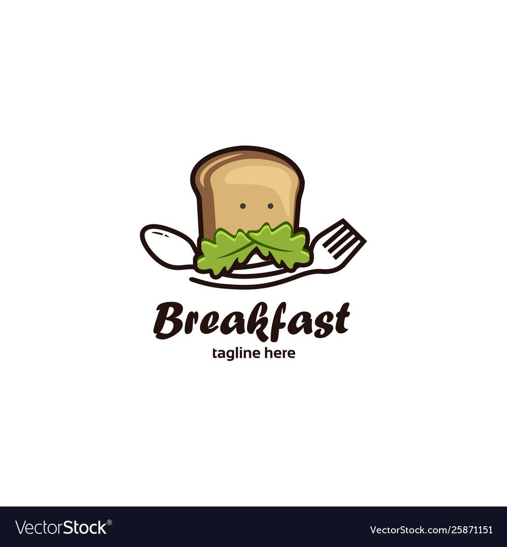Breakfast-logo-template