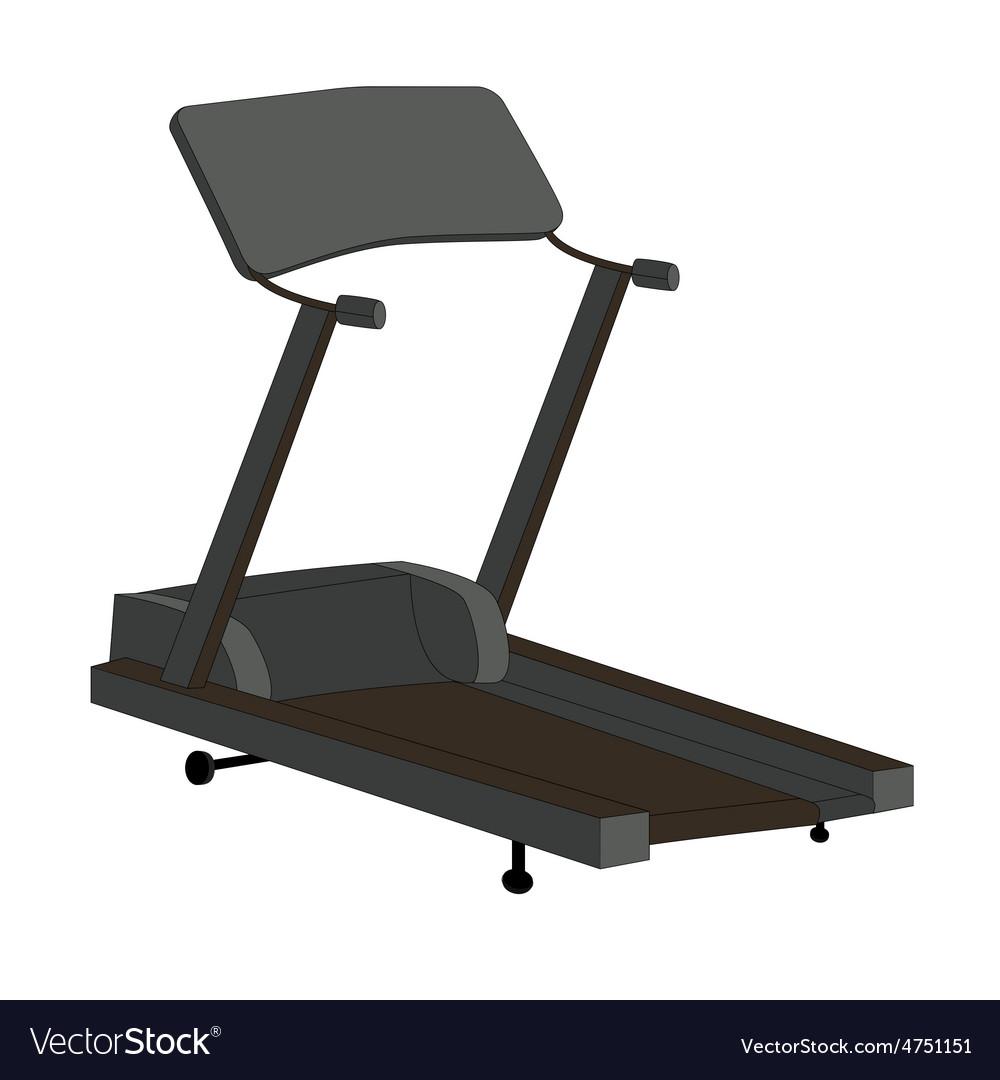 Sports Trainer Simulator Isolated