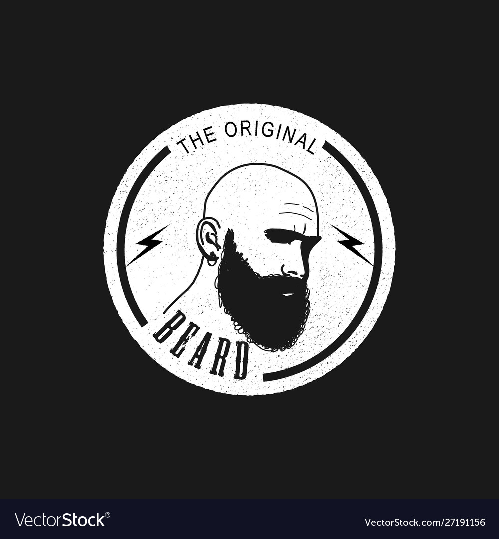 Bald Man With Long Beard Vector Images 47